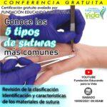 CONOCE LOS 5 TIPOS DE SUTURAS MAS COMUNES