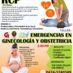 TALLER RCP Y EMERGENCIAS EN GINECOLOGIA Y OBSTETRICIA